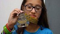 LeeAdianez Rodriguezová zaběhla ve 12 letech půlmaratón. Omylem.