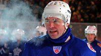 Jaromír Jágr při Utkání hvězd KHL.