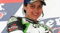 Španělská motocyklová závodnice Elena Rosellová