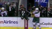 Netradiční střídání v NHL