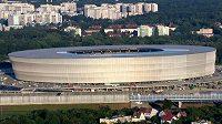 Fotbalový stadión ve Vratislavi