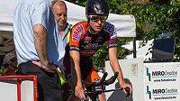 Belgický talent Stef Loos zahynul po srážce s dodávkou při cyklistické Velké ceně Alfreda Gadennea.