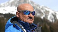 Ruský biatlonový kouč Anatolij Chovancev.
