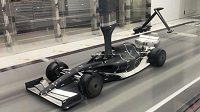 Nový model vozu formule 1.