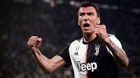 Mario Mandžukič v dresu Juventusu