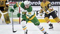 Švédský hokejista Joel Eriksson Ek podepsal smlouvu na 8 let s Minnesotou.