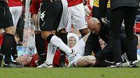 Wayne Rooney se měsíc po zranění chystá k návratu.
