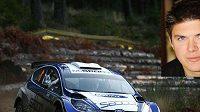 Martin Prokop (ve výřezu) se v příští sezóně představí za volantem speciálu Ford Fiesta S2000.