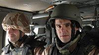 David Kostelecký ve vrtulníku
