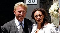 Tenisová legenda Boris Becker s manželkou Sharlely 'Lilly' Kerssenbergovou
