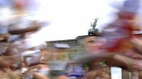Běžci během maratonu - ilustrační fotografie