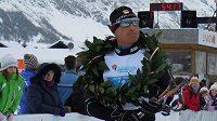 Stanislava Řezáče v Livignu potěšil alespoň triumf v doprovodném závodě na 22 km.