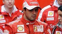 Felipe Massa se zatím myšlenkami o nové smlouvě ve Ferrari nestresuje.