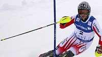 Vítěz slalomu ve finském Levi Rakušan Reinfried Herbst