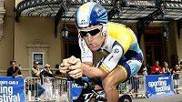 Americký cyklista Levi Leipheimer během Tour de France