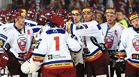 Radost hokejistů Sparty po vítězství v Tipsport Cupu