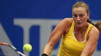 Petra Kvitová na turnaji v Linci