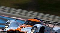 Prototyp Aston Martin LMP1, v jehož kokpitu se střídají Tomáš Enge a Jan Charouz.