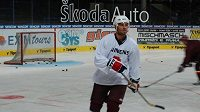 Hokejista Martin Ručinský v dresu Sparty