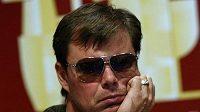 Jaroslav Špaček při charitativním pokerovém turnaji.
