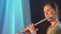 Lyžařka Anna Kulíšková na vyhlášení handicapovaných sportovců i zahrála