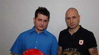 Posádka AutoFleetCar Rally Teamu Daniel Landa (vpravo) a navigátor Jan Škaloud.