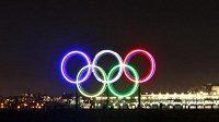 Olympijské kruhy, ilustrační foto