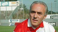 Legendární fotbalista Slavie Praha František Veselý na snímku ze září 1993