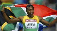 Caster Semenyaová prý tlak na sebe necítí.