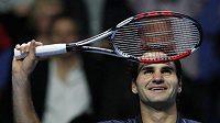 Roger Federer na Turnaji mistrů v Londýně