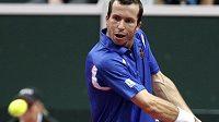 Radek Štěpánek ve čtvrtfinále Davisova poháru s Argentinou