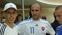 Marek Hamšík (vlevo) byl jedním z hříšníků slovenské reprezentace.