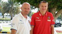Trenér fotbalové reprezentace Michal Bílek má pro Adama Hlouška dres stále schovaný.