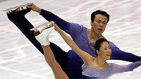 Čínská sportovní dvojice Süe Šen, Čao Chung-po při volné jízdě na MS