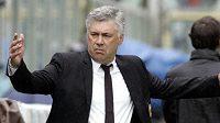 Trenér Carlo Ancelotti