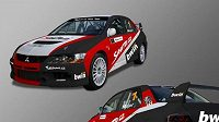 Studie produkčního speciálu Mitsubishi Lancer EVO IX stáje Seznam.cz Rally Teamu.