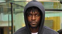 Fotbalový útočník Manchesteru City Emmanuel Adebayor
