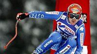 Vítěz SP ve sjezdu Švýcar Didier Cuche