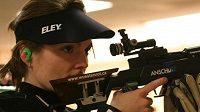 Střelkyně Kateřina Emmons se po mateřské pauze vrátila ve výborné formě