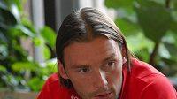 Marek Jankulovski na srazu reprezentace
