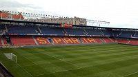 Stadión fotbalistů Sparty Praha