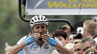 Cyklista Davide Rebelline z Itálie - ilustrační fotografie