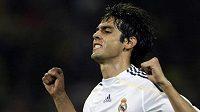 Brazilec Kaká v dresu Realu Madrid