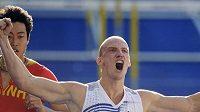 Překážkář Petr Svoboda se raduje z postupu do finále