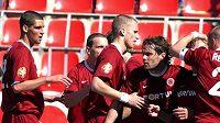 Uspějí fotbalisté Sparty v derby se Slavií?