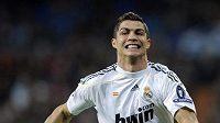 Cristiano Ronaldo z Realu Madrid je zase při chuti.