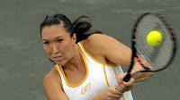 Srbská tenistka Jankovičová na turnaji v Charlestonu.
