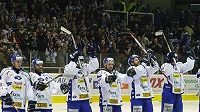 Radost hokejistů Komety Brno - ilustrační foto