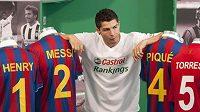 Portugalský fotbalista Realu Madrid Cristiano Ronaldo
