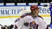 Hokejový útočník CSKA Moskva Anton But